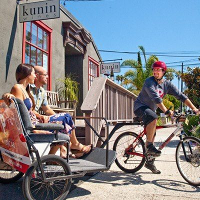 Wine Tasting by Bike in Santa Barbara